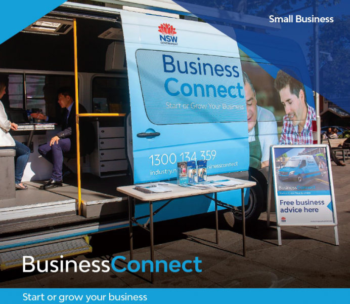 Business Bus in Griffith