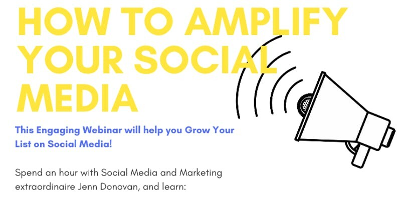 Social media webinar – less than 1 week to go