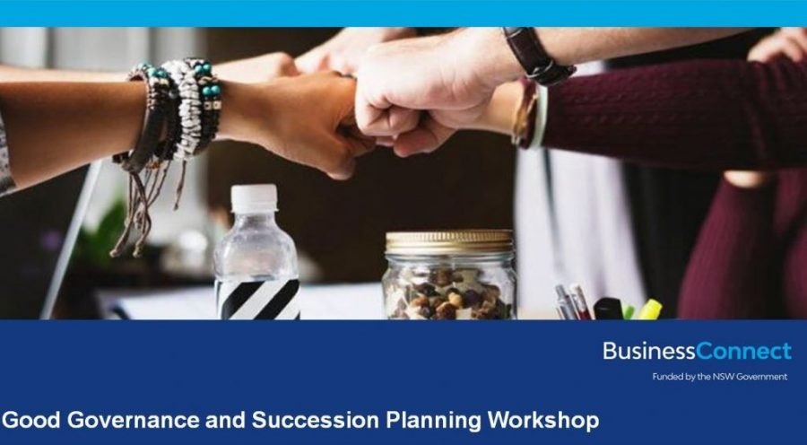 Good Governance and Succession Planning Workshop - Albury