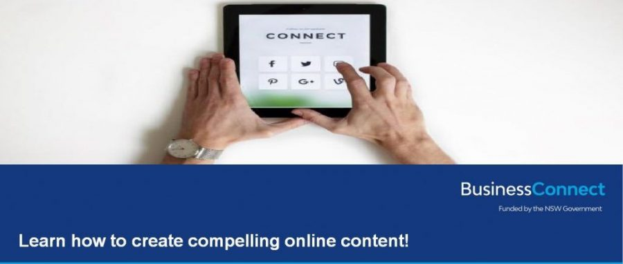 Learn how to create compelling online content! (Albury)