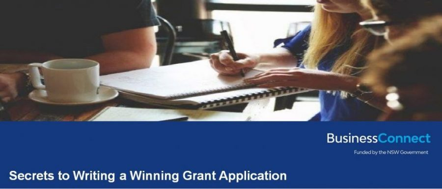 Secrets to Writing a Winning Grant Application -  Cootamundra
