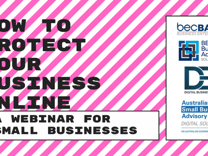 How to protect your business online - webinar